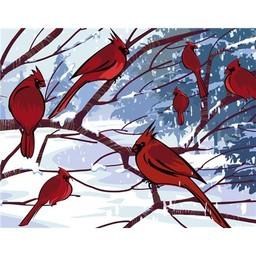 Artventura Rode Vogeltjes