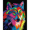 Artventura Rainbow Wolf