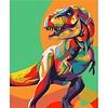 Artventura Rainbow Dinosaur