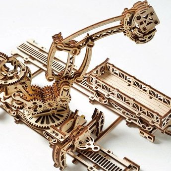UGears Spoorbouw Robot