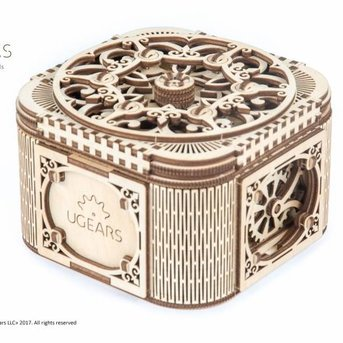 UGears Treasure Chest