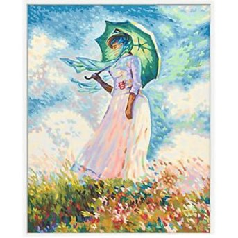 Schipper Woman with Umbrella