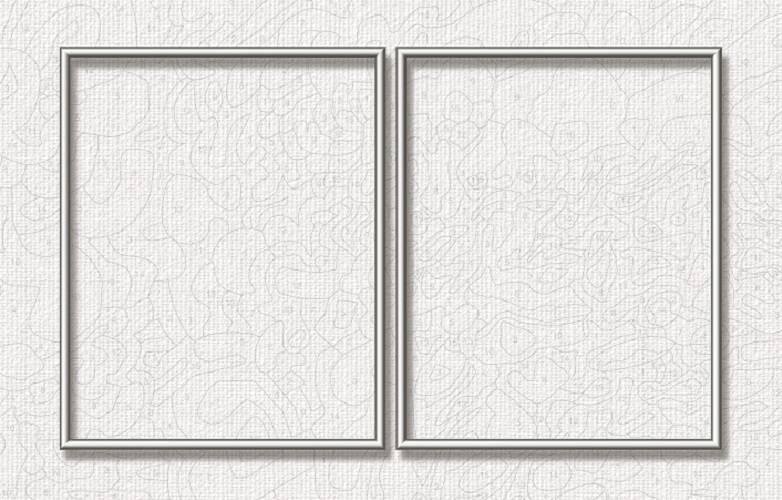 Schipper Aluminiumrahmen - 50 x 80 cm (Diptychon) Silber