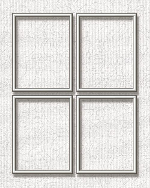Schipper Aluminium lijst - 18 x 24 cm (quattro) Zilver
