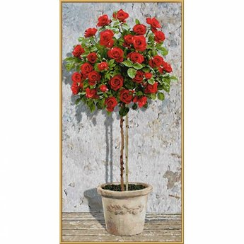 Schipper Red Rose Tree
