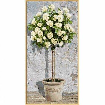 Schipper White Rose Tree