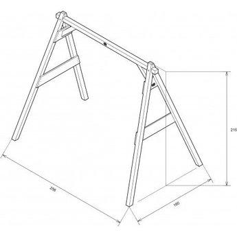 AXI Doppelschaukel (grau weis) - Copy