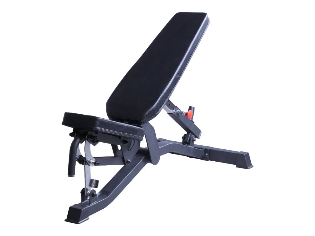 Lifemaxx® LMX1055 Adjustable bench (black)