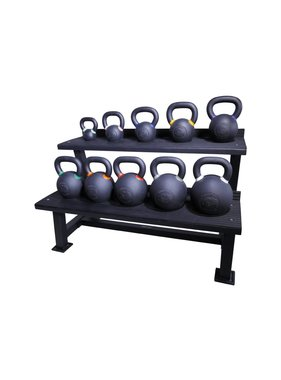 Lifemaxx® LMX1145 Crossmaxx® kettlebell rack (black)
