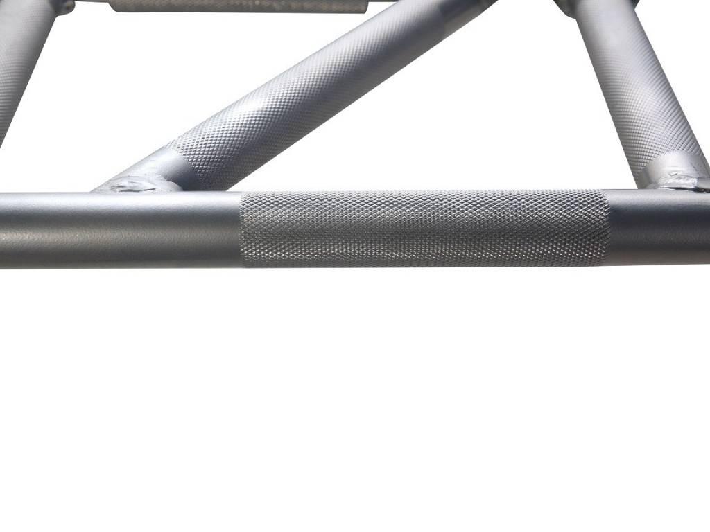 Crossmaxx® LMX1702 Crossmaxx® multi-grip pull-up rack (black)