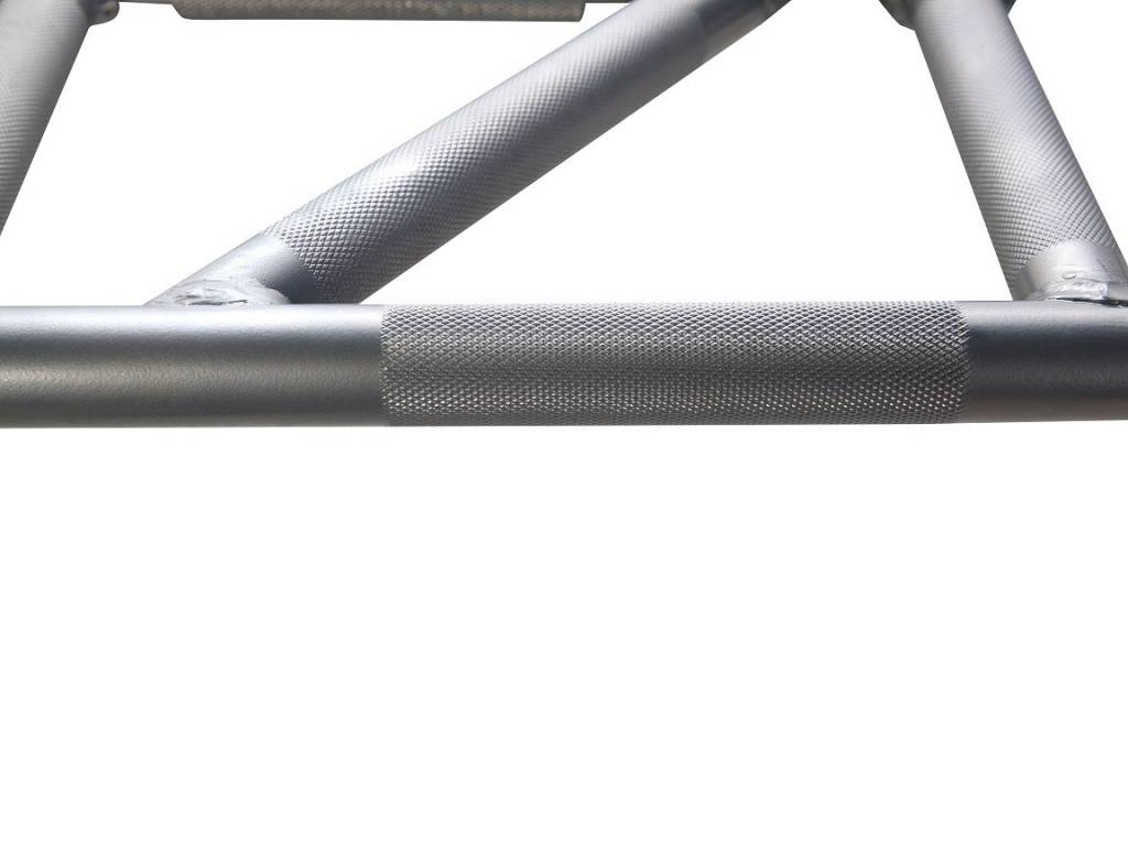 Lifemaxx® LMX1702 Crossmaxx® multi-grip pull-up rack (black or silver)