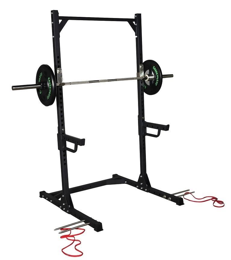 Lifemaxx® LMX1740 Crossmaxx® Squat rack (black)