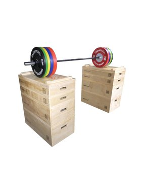 Crossmaxx® LMX1299 Crossmaxx® wooden jerk block set