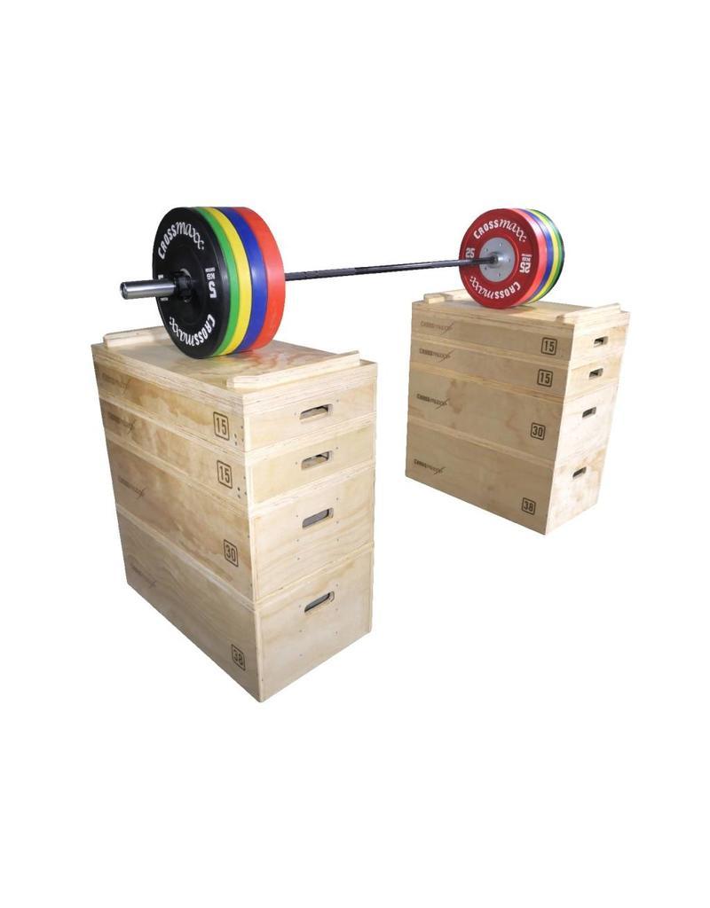 Crossmaxx® LMX1299 Crossmaxx® wooden jerk block set