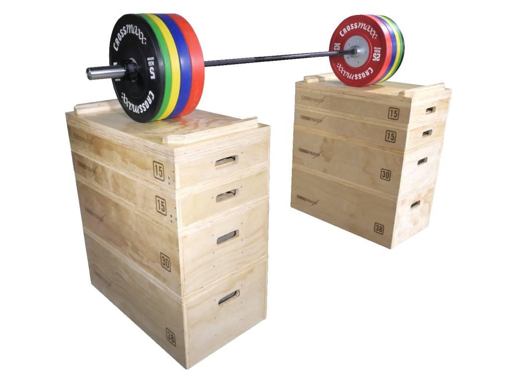 Crossmaxx® LMX1299 Crossmaxx® wooden jerk block set (available 2 November)