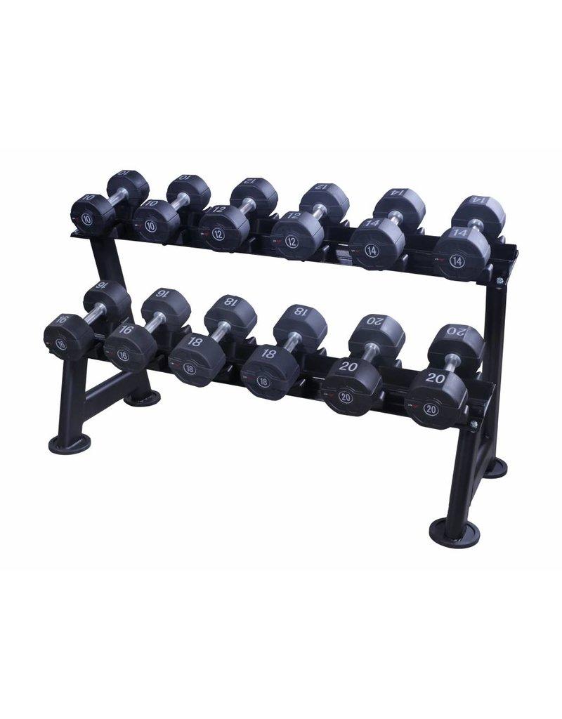 Lifemaxx® LMX72 Lifemaxx PU dumbbellset 2 pcs/set (1 - 60 kg)