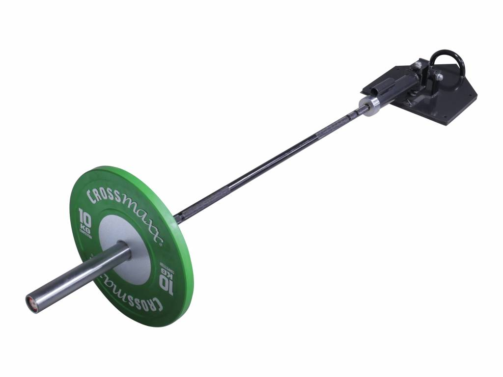 Lifemaxx® LMX1022 Total core trainer with handle. For 50 mm bars (black)