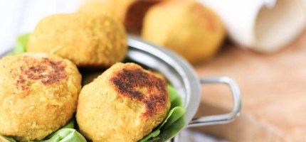 Vegetarian 'meat'balls