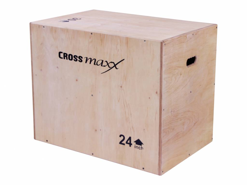 Crossmaxx® LMX1296 Crossmaxx® wooden plyo box (3-level)