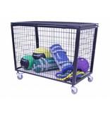 Lifemaxx® LMX1247 Storage Cart (black) (leverbaar december/januari)