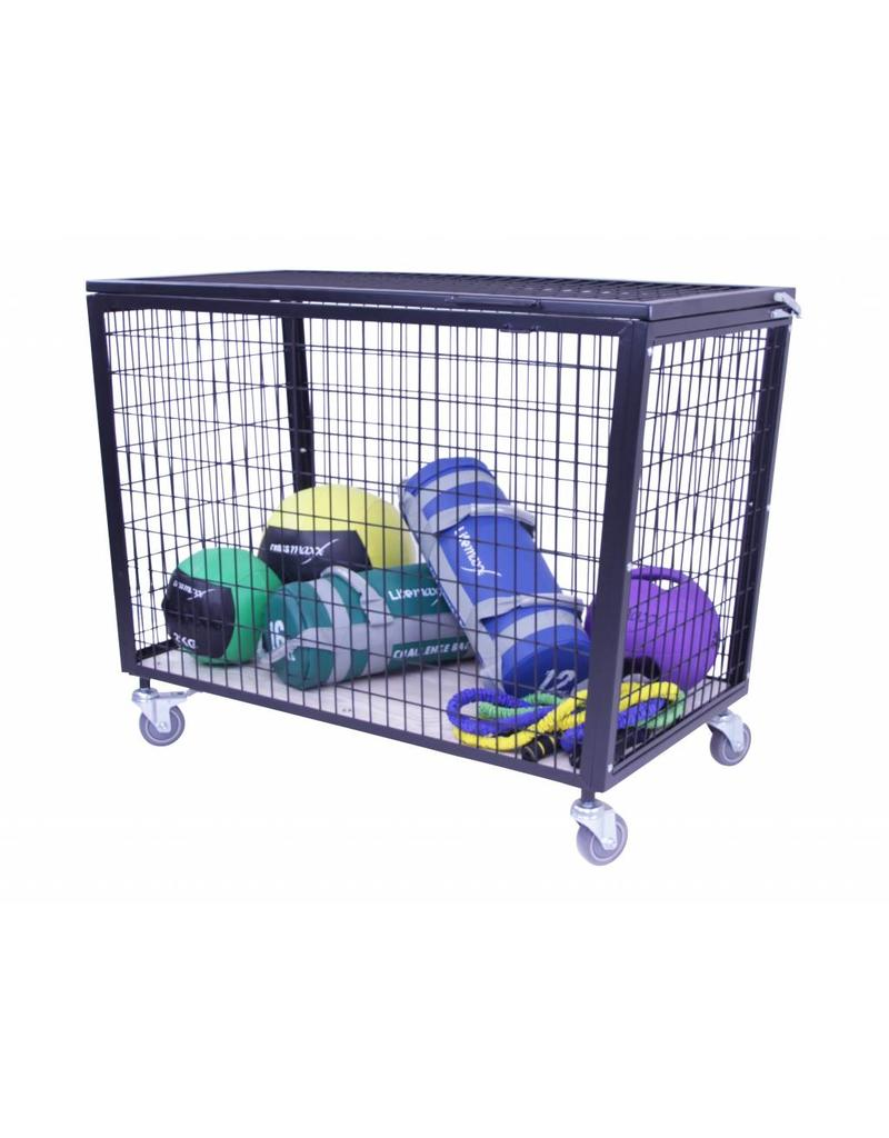 Lifemaxx® LMX1247 Storage Cart (black)