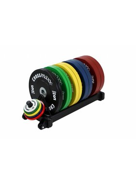 Lifemaxx® LMX1031 Crossmaxx® bumper plate rack (black)