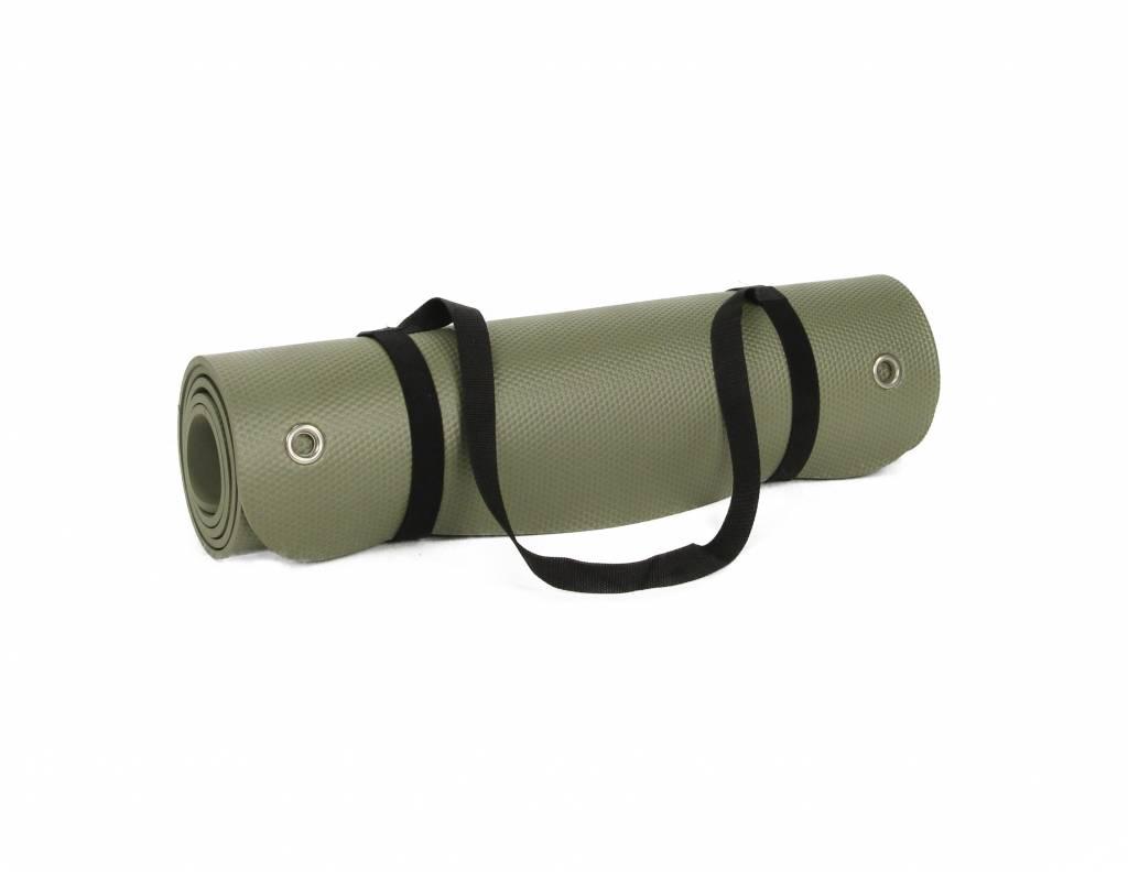 Lifemaxx® LMX1222 Pilates/yoga mat 180 cm (olivegreen)