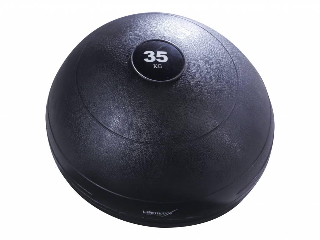Lifemaxx® LMX1240 Slamball - black (6 - 70 kg)