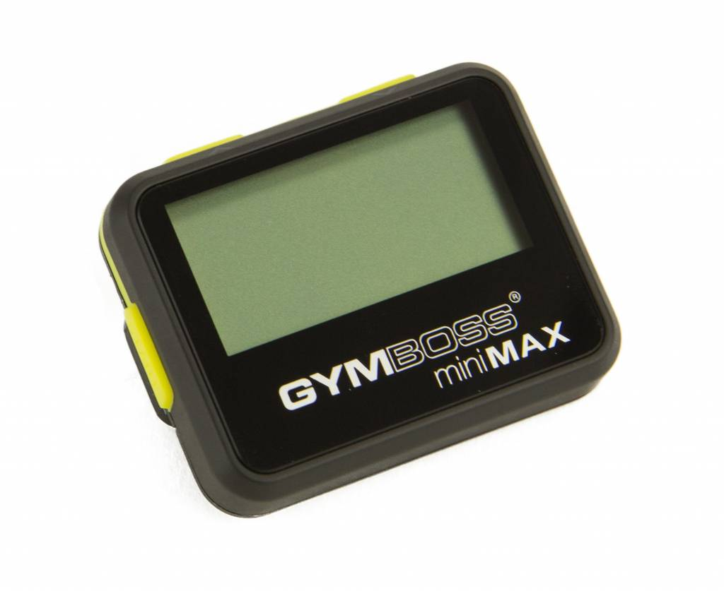 Gymboss® LMX1281 Gymboss® MiniMAX interval timer (black) (available beginning of August)