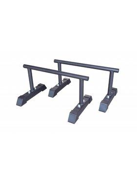 Lifemaxx® LMX1701 Crossmaxx® parallettes set (black)