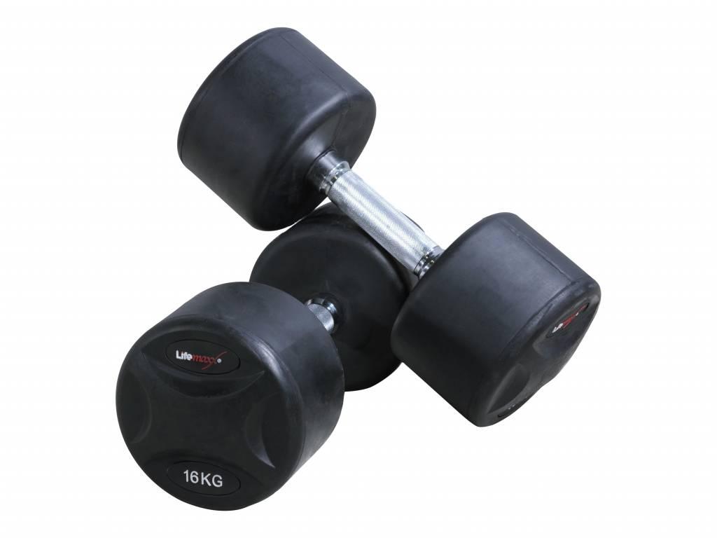 Lifemaxx® LMX79 Fixed dumbbellset (1 - 60 kg)