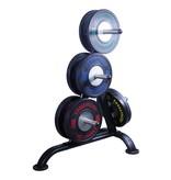 Crossmaxx® LMX85 Crossmaxx® Comp. bumper plate 50 mm - black (5 - 25 kg)