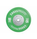 Crossmaxx® LMX85C Crossmaxx® Comp. bumper plate 50mm - coloured (10 - 25kg)