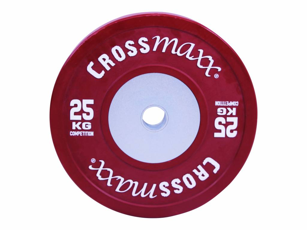 Crossmaxx® LMX85C Crossmaxx® Comp. bumper plate 50 mm - coloured (10 - 25 kg)