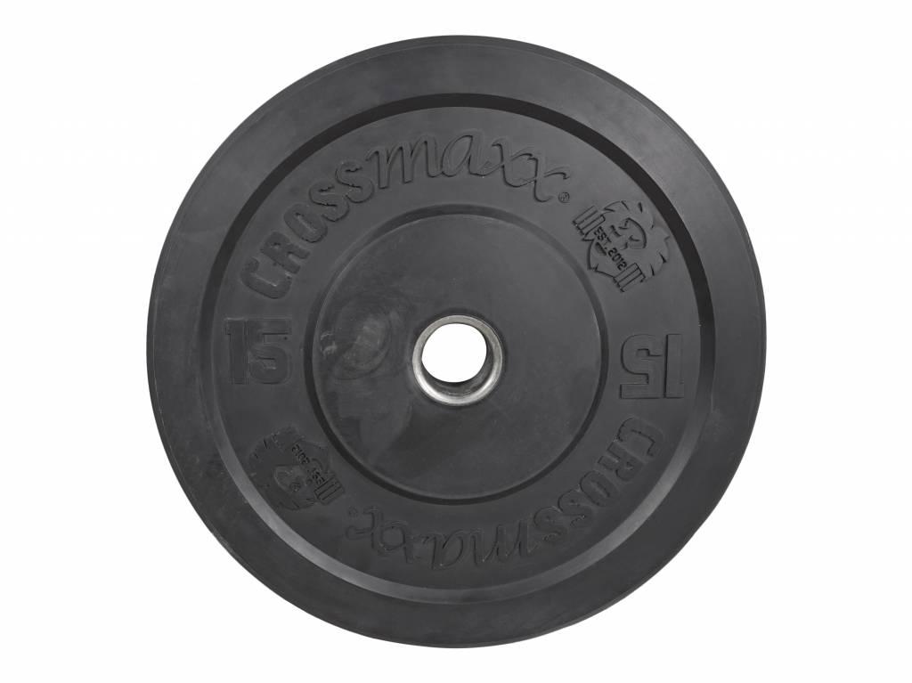Crossmaxx® LMX87 Crossmaxx® bumper plate 50 mm - black (5 - 25 kg)