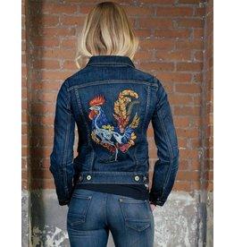 Good Genes Her Denim Jacket - Wilson Rooster