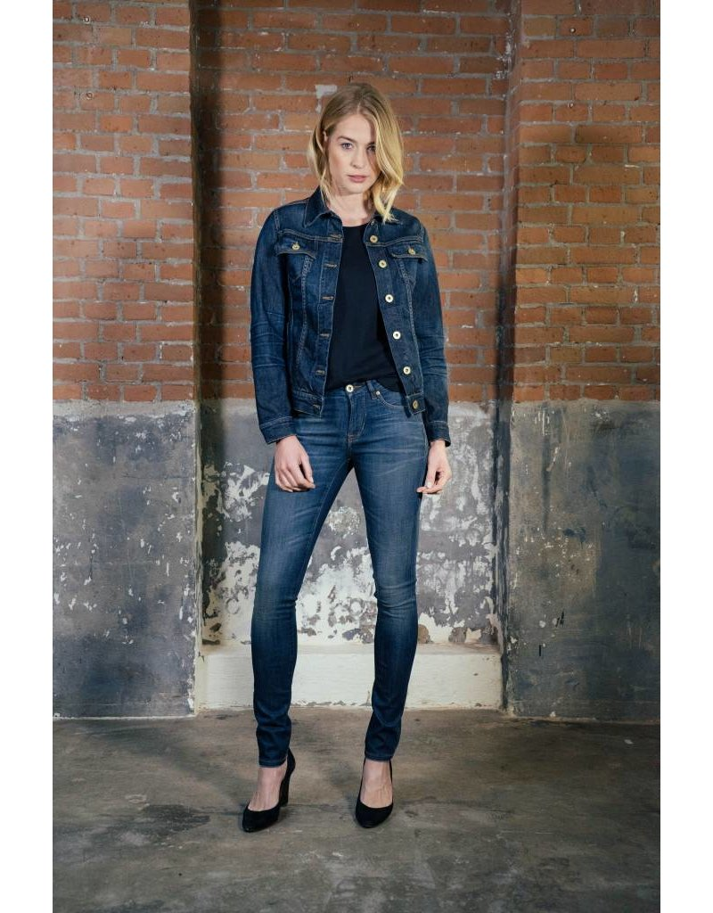Good Genes Her Denim Jacket - Wilson Rooster