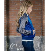 Good Genes Her Baseball Jacket - Bird Nylon