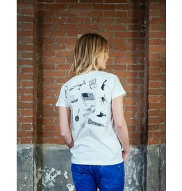 Good Genes Her Tee Kaye, All Annie Hall - White