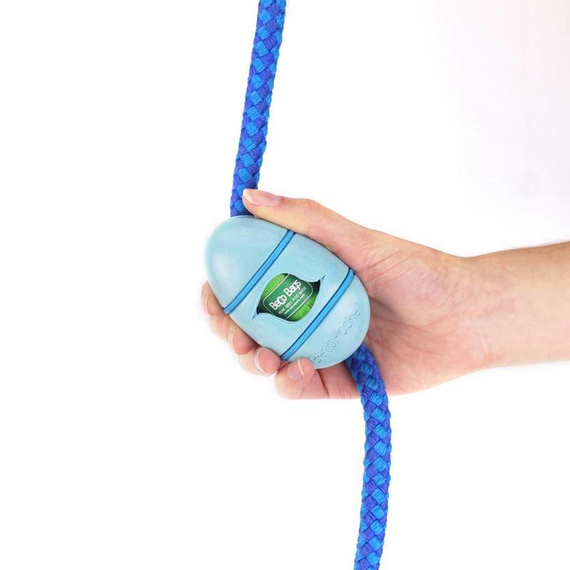 Becopocket poepzakjeshouder blauw