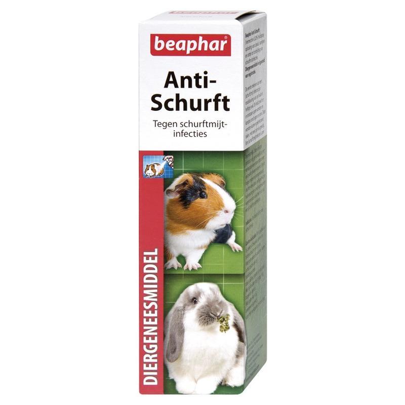 Anti-schurft 75ml tegen ongewenste mijten bij knaagdieren.