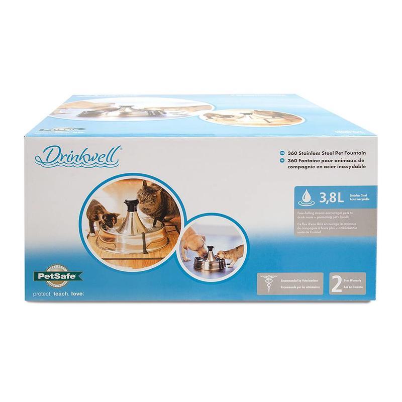 Drinkfontein voor honden en katten voor vers drinkwater