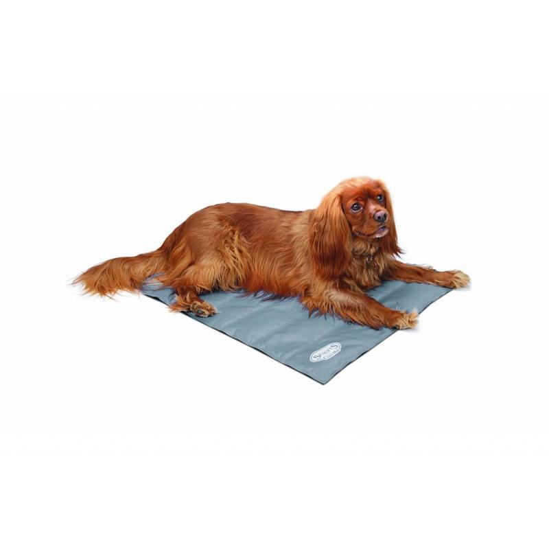 Zelf koelende ligmat voor honden