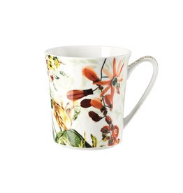 Rosenthal Porzellan Tasse Belles Fleurs Olive