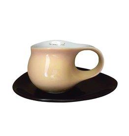 Colani Porzellanserie Colani Espressotasse groß 2-tlg., sand