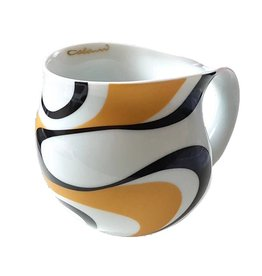 Colani Porzellanserie Colani Kaffeebecher, gold & black 1