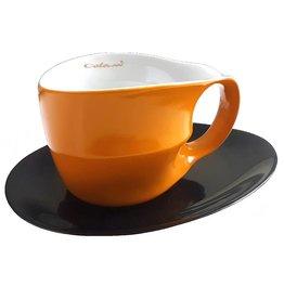 Colani Porzellanserie Colani Jumbotasse 2-tlg. orange