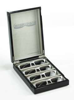 High-gloss Black Readingglassesbox