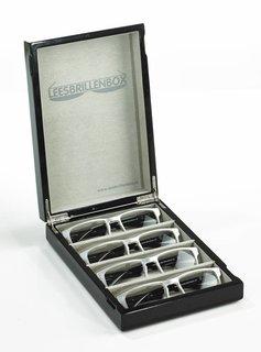Leesbrillenbox - Hoogglans zwart