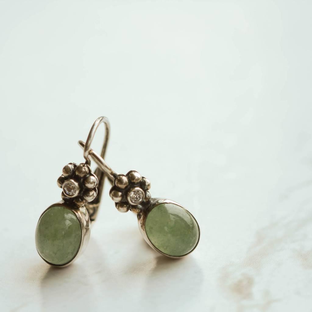 Carré Jewellery Aventurine earrings